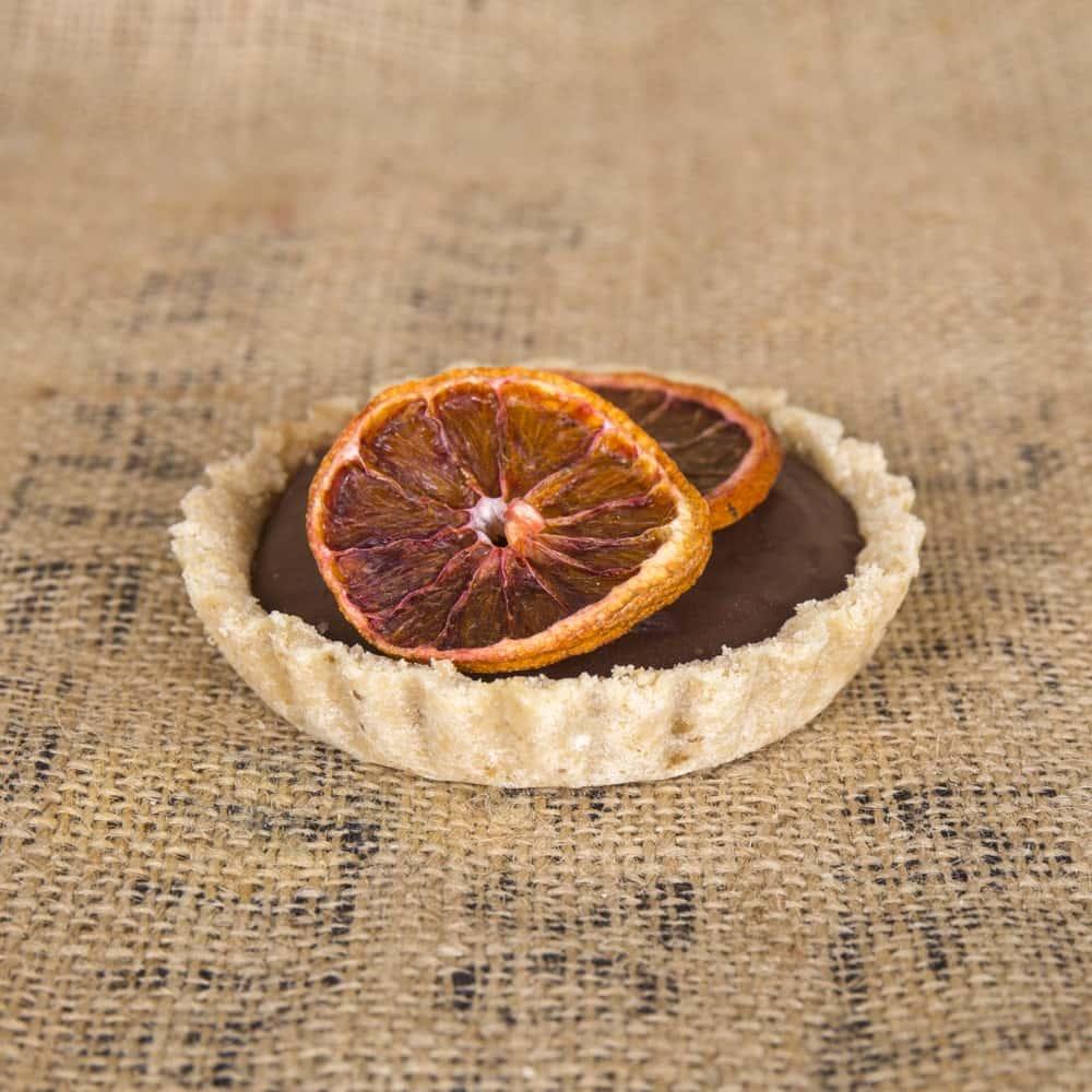 Tarta Tartaletas de chocolate y naranja - Pack de 8 - Venta de tartas caseras online