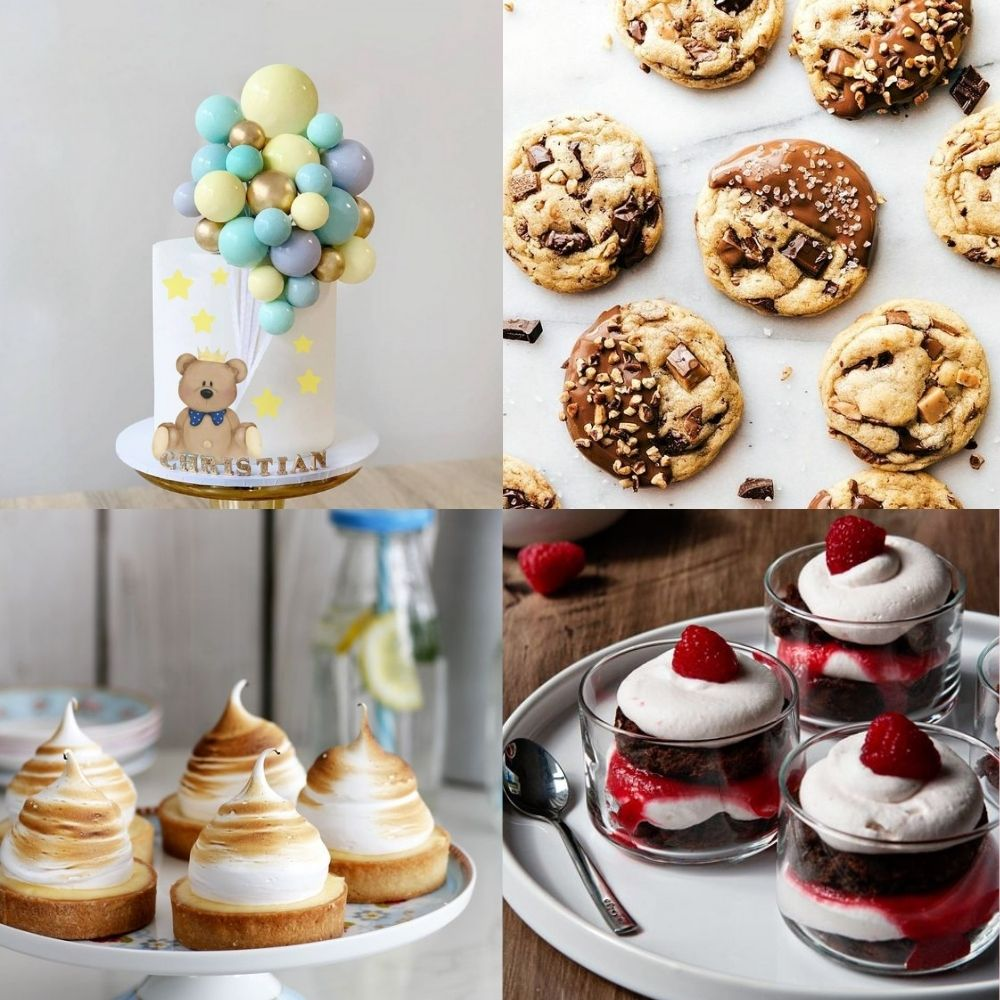 Tarta Mesa dulce bautizo - Venta de tartas caseras online