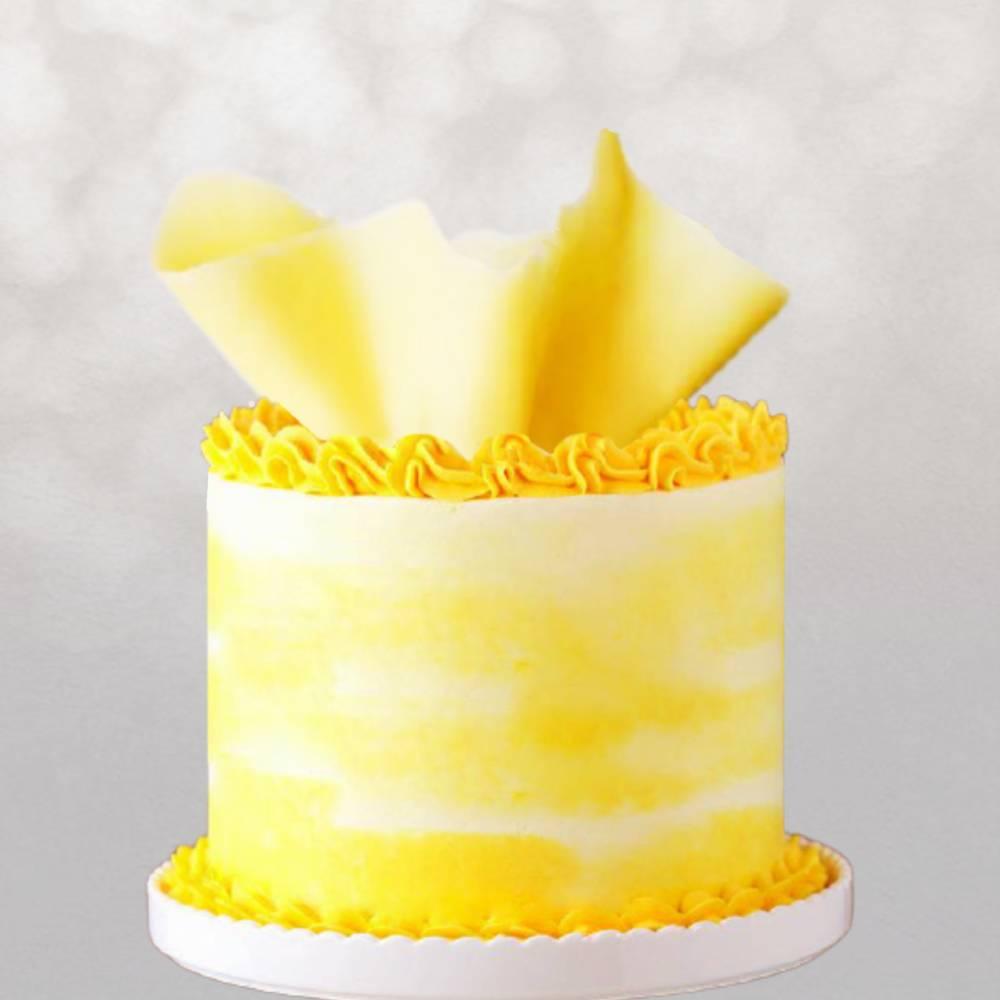 Tarta Tarta amarilla