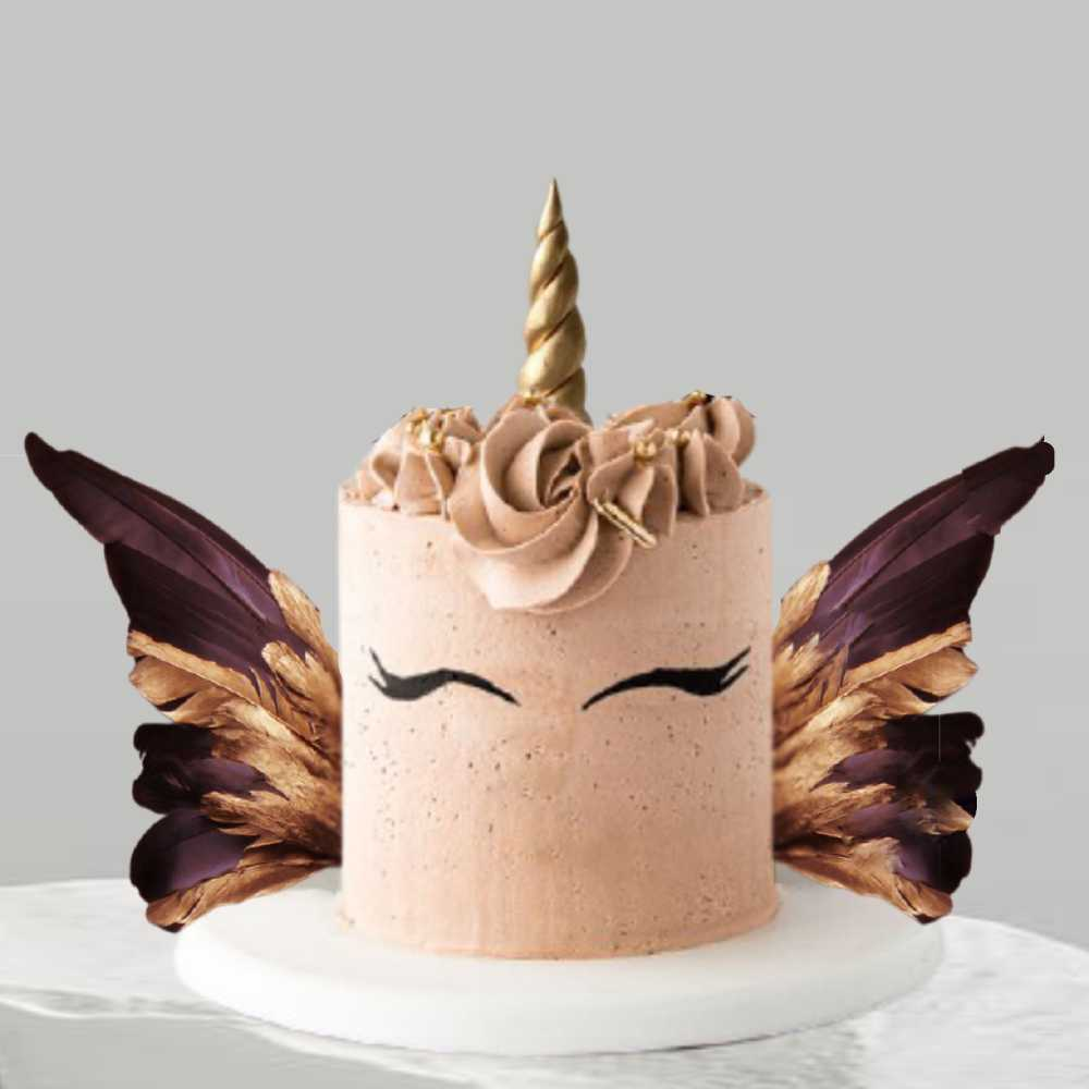 Tarta Tarta unicornio chocolate